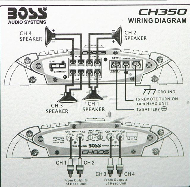 118288327354d3f4077d4b47.55762008 boss chaos cx350 400 watt 4 channel car audio class a b amplifier 4 6x9 wiring diagram at eliteediting.co