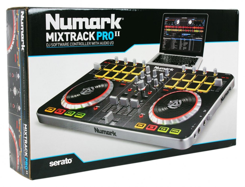 how to use numark mixtrack pro 2 with virtual dj
