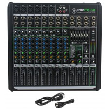 Mackie PROFX12v2 Pro 12 Channel Compact Mixer w Effects and USB PROFX12 V2